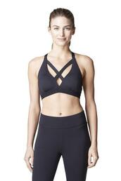 top,black,criss cross,racerback,sports bra,bikiniluxe
