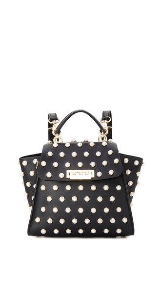 pearl lady backpack black bag