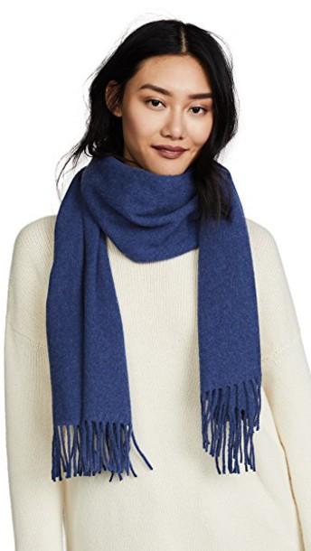 Acne Studios scarf blue