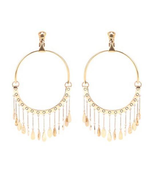 Chloe earrings hoop earrings gold jewels