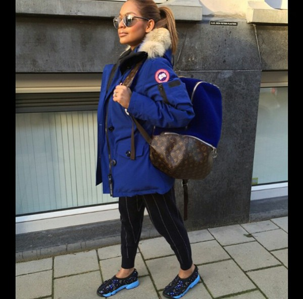 Canada Goose Kensington Parka Military Green | Outfits ...