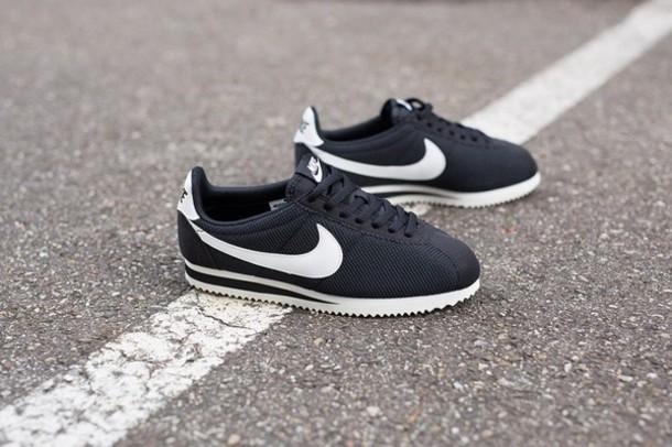 shoes nike cortez black