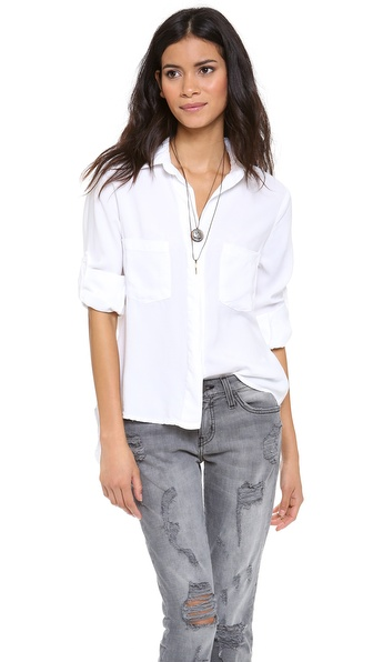 Bella Dahl Chambray Button Down | SHOPBOP