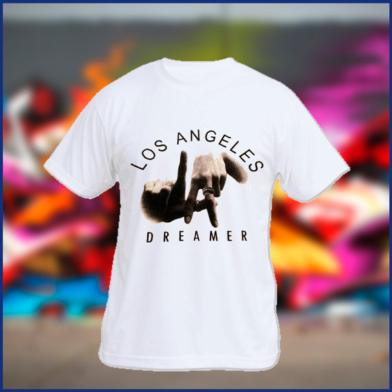 Los angeles dreamer mens tshirt womens tshirt by sweetteesnow