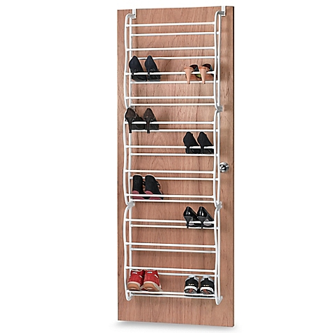 Charming SALT™ 36 Pair Over The Door Shoe Rack