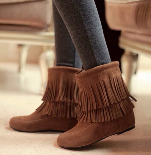 P.S. I Love You More Boutique | Boho Fringe Boots - Shipping September | www.psiloveyoumoreboutique.com