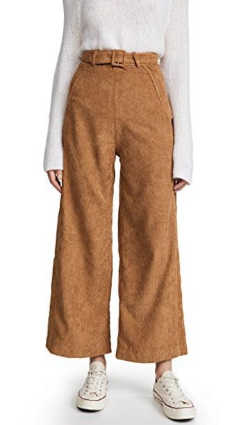 Samantha Pleet pants tan