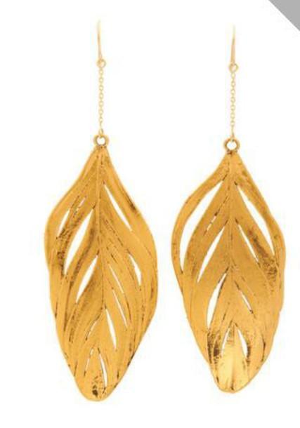 jewels feather earrings dangle earrings
