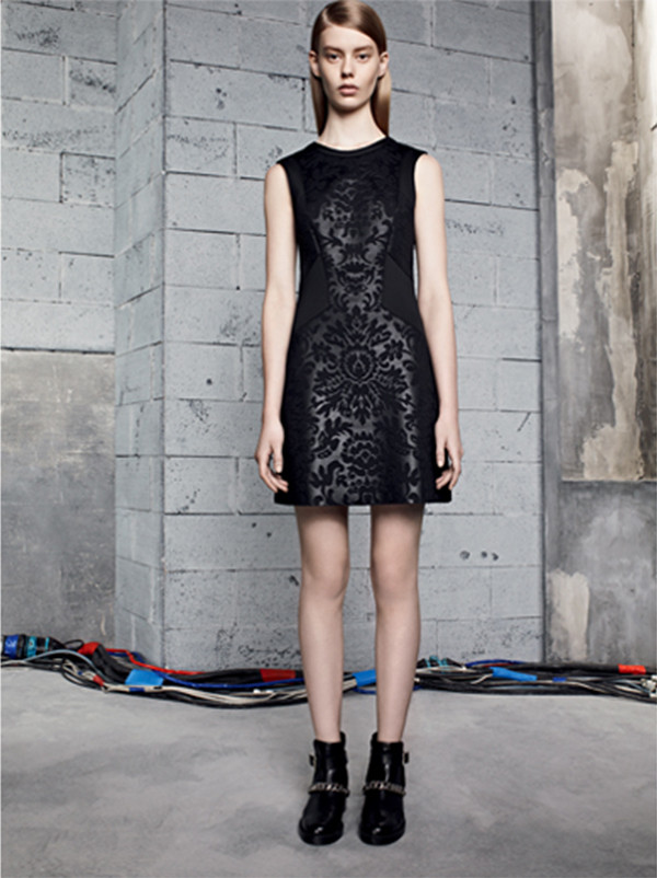 dress sandro lookbook fashion shoes