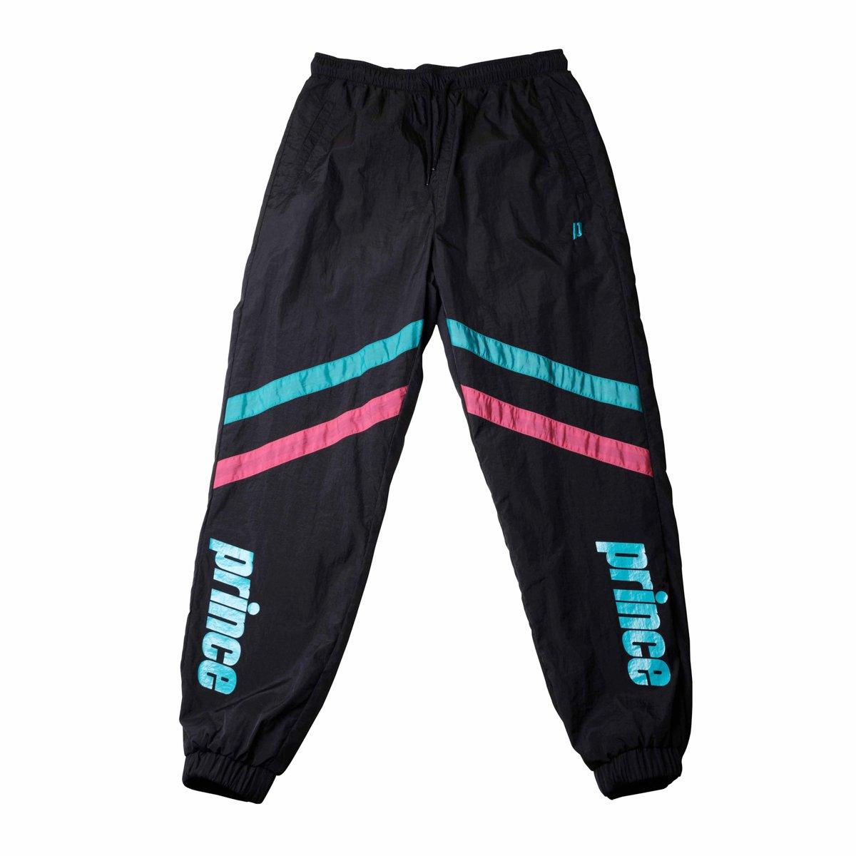 Black Baseline Windbreaker Pants