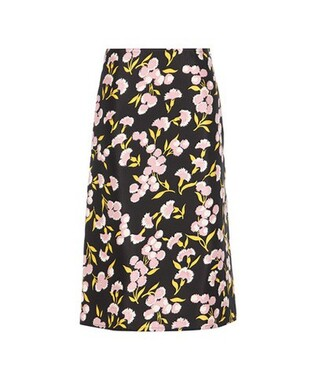 skirt cotton silk
