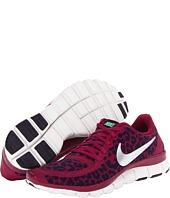 Nike Free 5.0 V4 Raspberry Red/Green Glow/Purple Dynasty/Metallic Silver - Zappos.com Free Shipping BOTH Ways