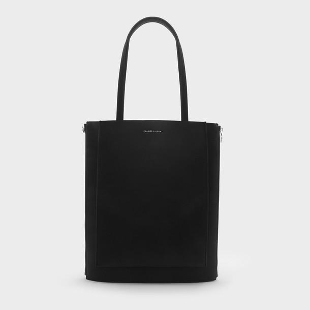 basic bag tote bag black