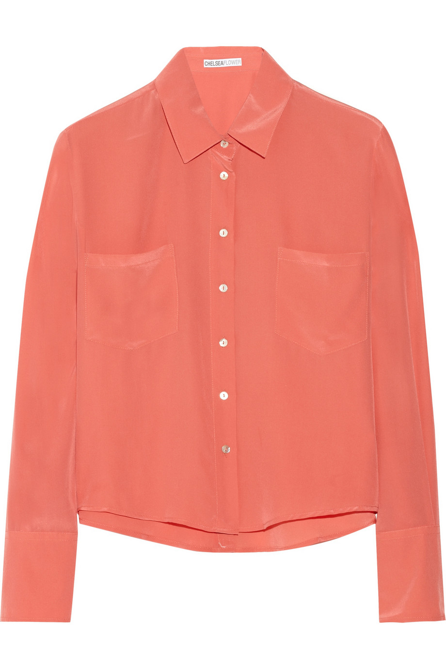 Washed-silk shirt | Chelsea Flower | 50% off | THE OUTNET