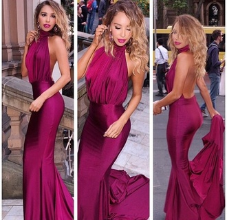 dress sydney fashion bloggers formal dress backless dress burgundy burgundy/ maroon