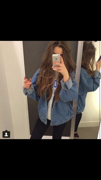 jacket grunge cute jeans denim jacket denim