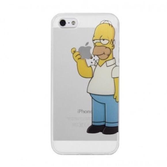 phone case iphone case iphone 5 case homer the simpsons 5 apple