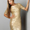 Gold party dress| holiday dress $79