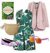 jacket,dress,sunglasses,bag,shoes