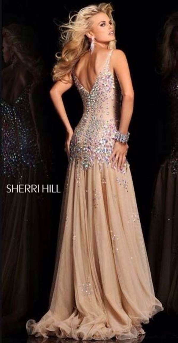 dress prom dress long prom dress sherri hill prom