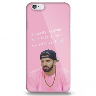 phone cover drake cool pink teenagers iphone cover funny boogzel