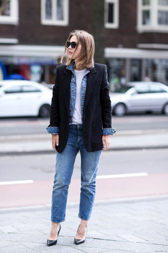 jacket shoes jeans t-shirt after drk sunglasses