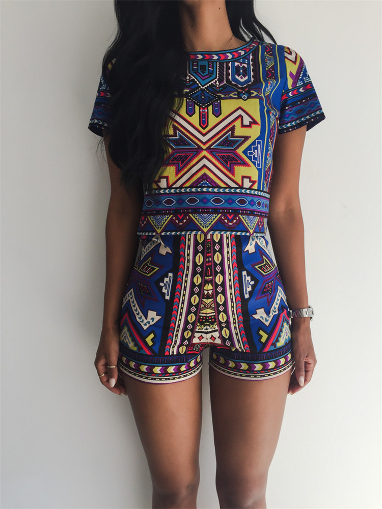 Tribe Aztec Romper Set – Outfit Made