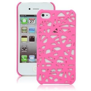 Amazon.com: hot pink birds nest case for apple iphone 4, 4s (at&t, verizon, sprint): cell phones & accessories