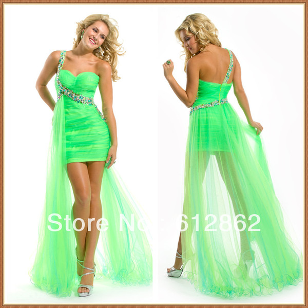 dress hilo dress neon green