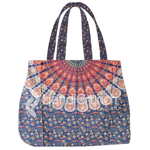 Alluring designs of Mandala boho Handbags