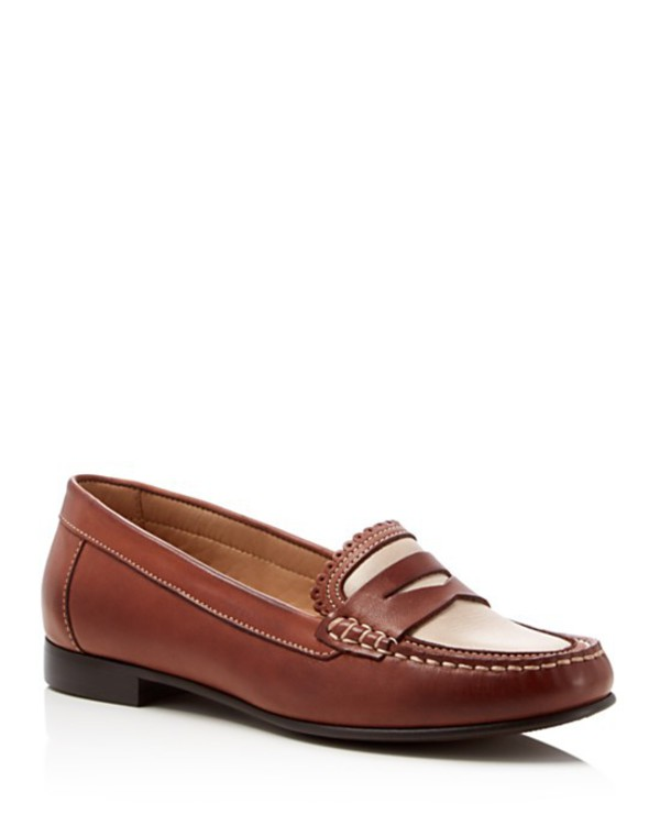 shoes loafers jack rogers penny loafers brown shoes
