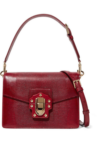 Dolce & Gabbana bag shoulder bag leather red