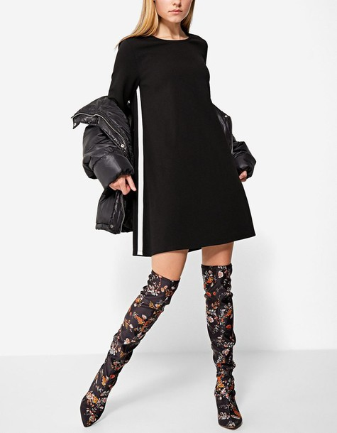 Stradivarius dress black