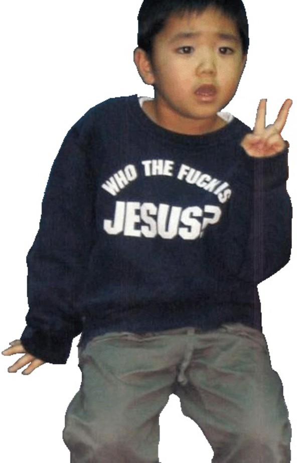 jesus sweater kids fashion