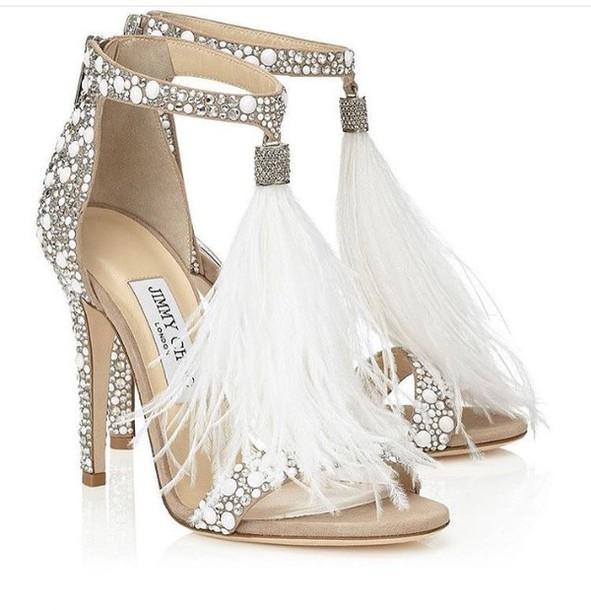 26d463effa4 shoes heels fur white jimmy choo hot classy