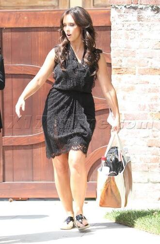 dress black lace celebrity jennifer love hewitt black dress lace dress black lace dress
