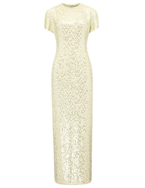 Jonathan Saunders dress silk yellow