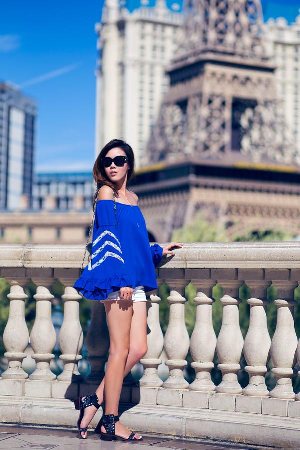 tsangtastic blogger top jewels shoes