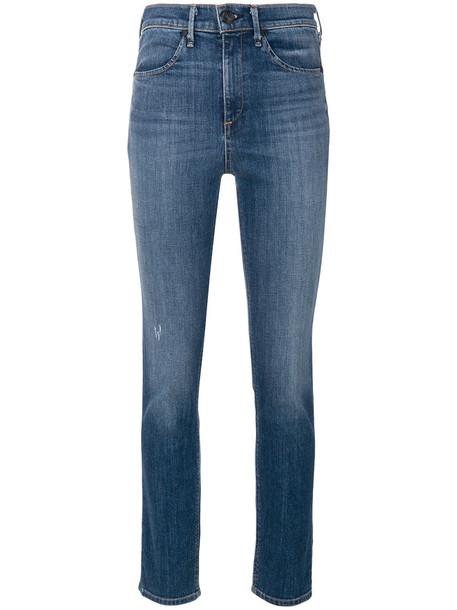 Rag & Bone - cigarette jeans - women - Cotton/Polyurethane - 31, Blue, Cotton/Polyurethane
