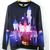 Disney Castle Digital Print Sweatshirt from Tumblr Fashion on Storenvy