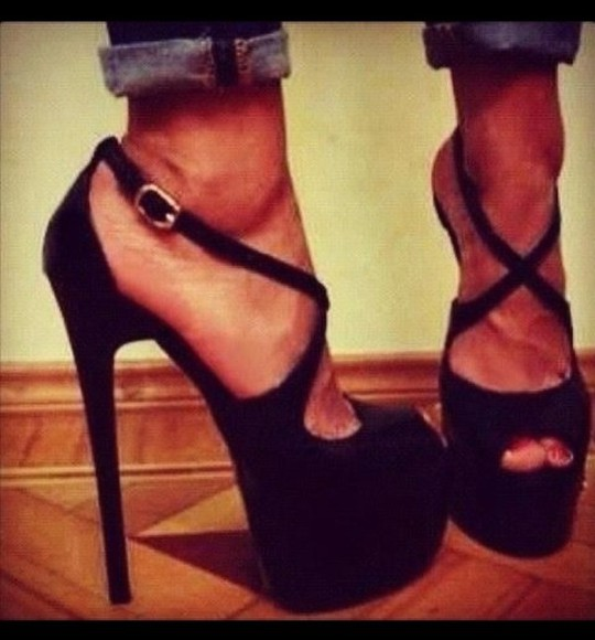 high heels shoes black heels black peep toe beige shoes platform straps strappy heels black peep toe platform shoes hot heels amazing amazing shoes nude nude high heels cream high heels cream heels nude shoes beige heels beige