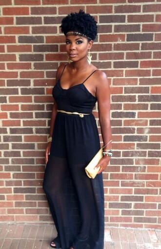 dress navy dress gold belt