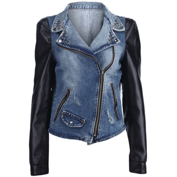 jacket leather sleeves