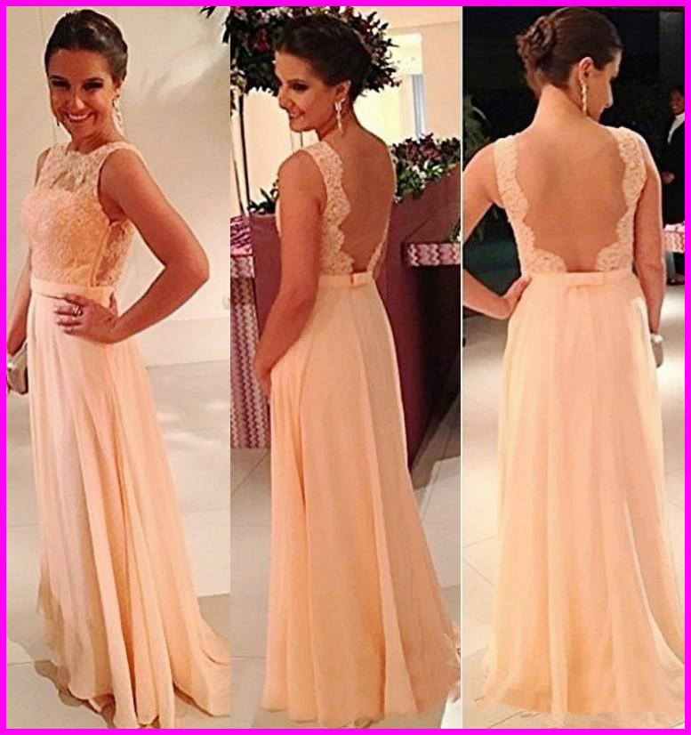 Aliexpress.com : Buy Popular A line Boat Neck Lace Top Special Occasion Dresses 2014 Sheer Tulle Long Backless Bridesmaid Dresses from Reliable dresses green suppliers on 27 Dress