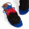 Malone souliers sherry pom-pom flat sandals