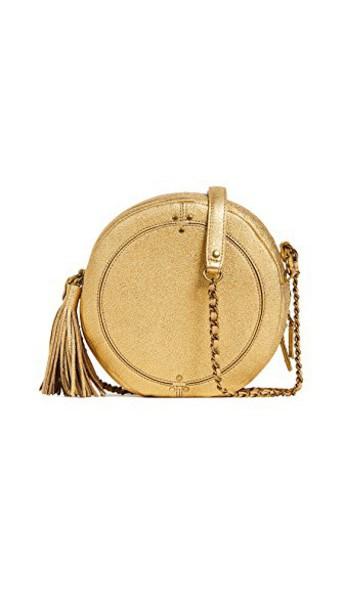 Jerome Dreyfuss cross bag matte gold