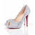 Red Bottom Christian Louboutin Very Riche 120mm Peep Toe Pumps Aurora Boreale