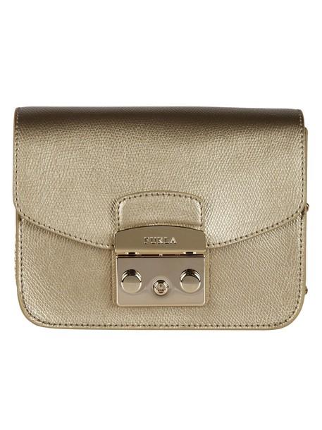 Furla mini bag shoulder bag bronze