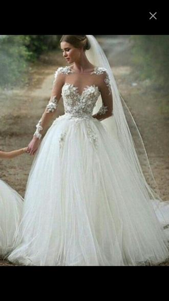 dress wedding lovely princess glamour diamonds girly class