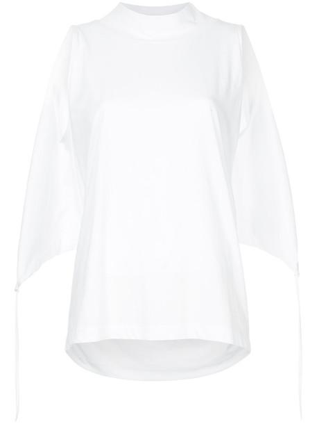Taylor tank top top back women white cotton